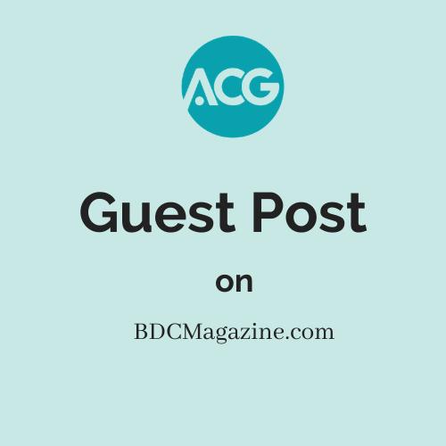 Guest Post on BDCMagazine.com