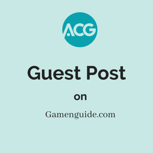 Guest Post on Gamenguide.com