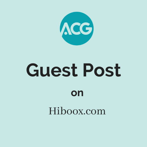 Guest Post on Hiboox.com
