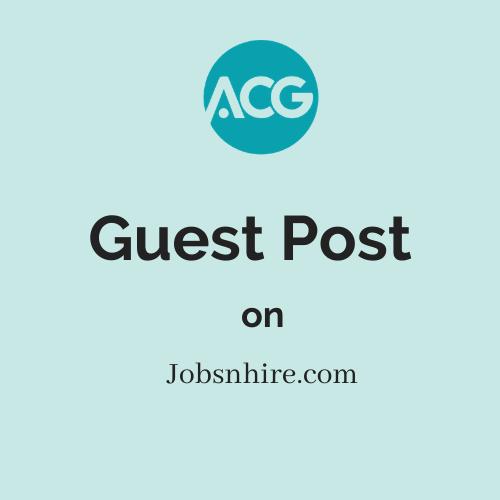 Guest Post on Jobsnhire.com