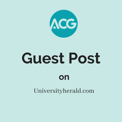 Guest Post on Universityherald.com