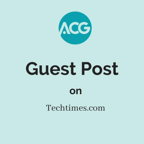 Guest Post on techtimes.com